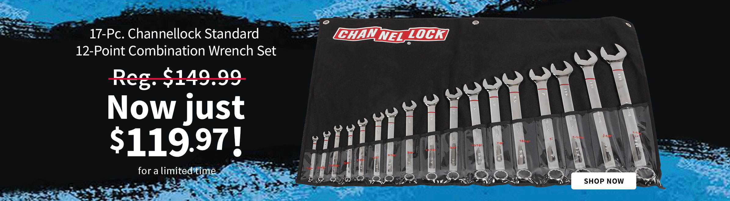 Channellock 17-Pc. Standard Wrench Set