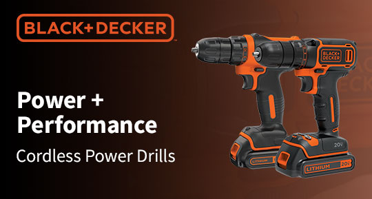 Black & Decker Cordless Power Drills