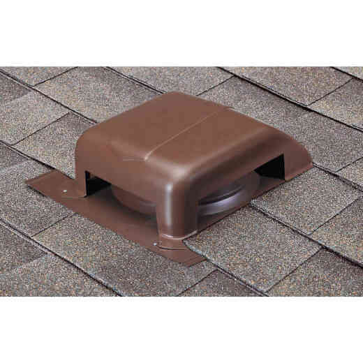 Airhawk 40 In. Brown Galvanized Steel Slant Back Roof Vent