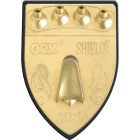 Hillman OOK 100 Lb. Capacity Shield Picture Hanger Image 1