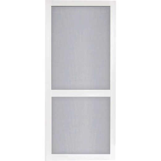 Screen Tight Vinylcraft 32 In. W x 80 In. H x 1 In. Thick White Vinyl Screen Door