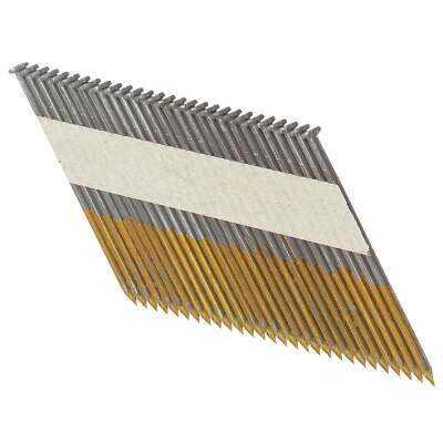 Bostitch 30 Degree Paper Tape Bright Offset Round Head Framing Stick Nail, 3-1/2 In. x .131 In. (2500 Ct.)