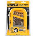 DeWalt 29-Piece Gold Ferrous Pilot Point Drill Bit Set, 1/16 In. thru 9/32 In. Image 2