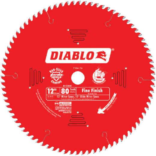 Diablo 12 In. 80-Tooth Fine Finish Circular Saw Blade