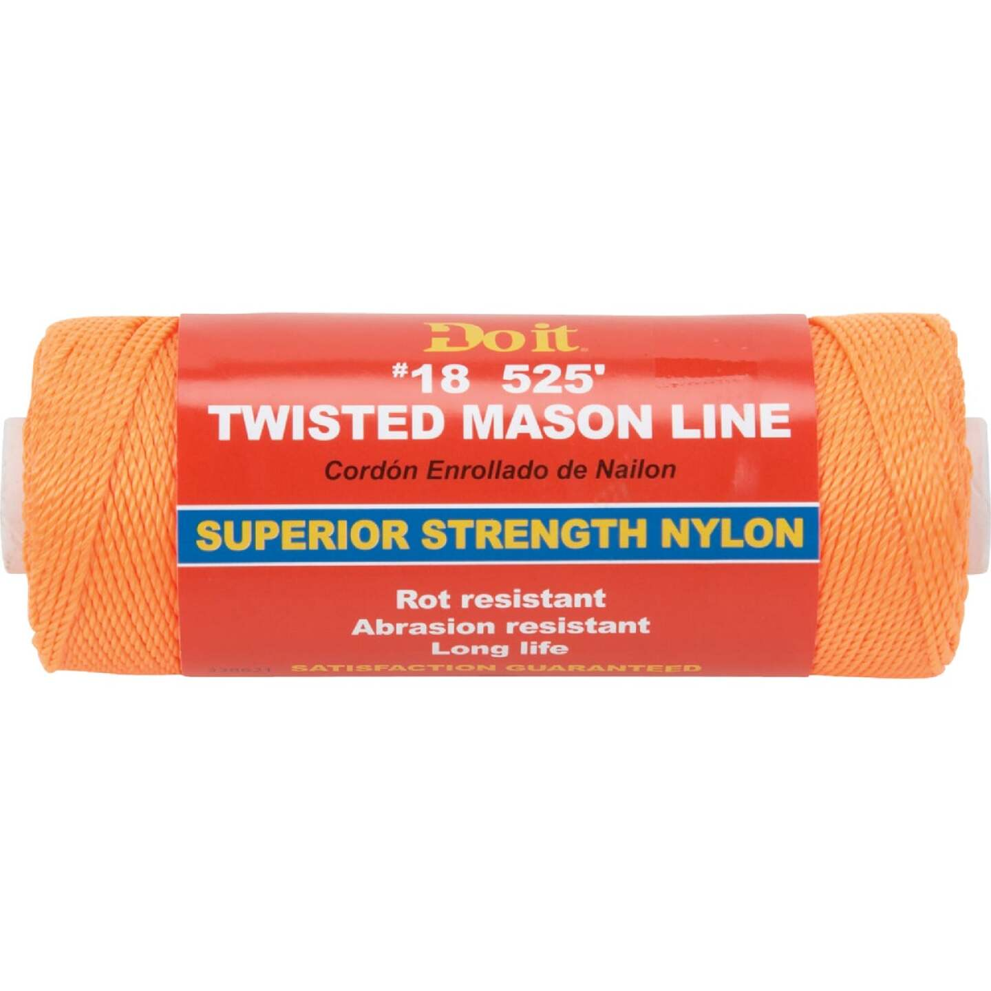 Do it 525 Ft. Fluorescent Orange Twisted Nylon Mason Line Image 1
