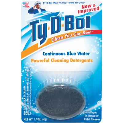 Ty-D-Bol Continuous Blue Water Automatic Toilet Bowl Cleaner
