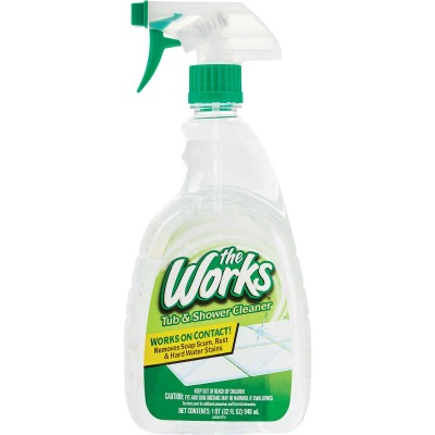 The Works 32 Oz. Tub & Shower Cleaner