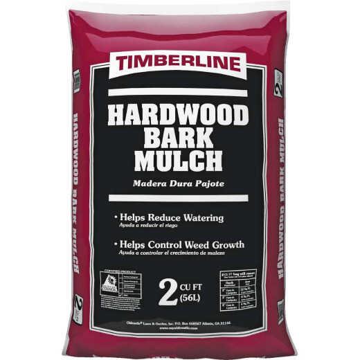 Timberline 2 Cu. Ft. Natural Brown Shredded Hardwood Mulch
