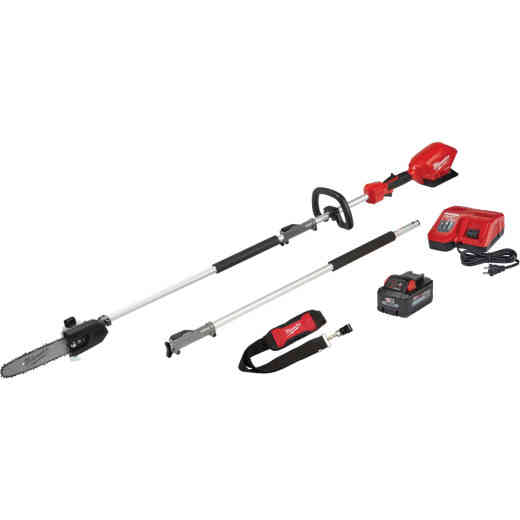 Milwaukee M18 Fuel 10 In. Pole Saw Kit with Quik-Lok Attachment Capability