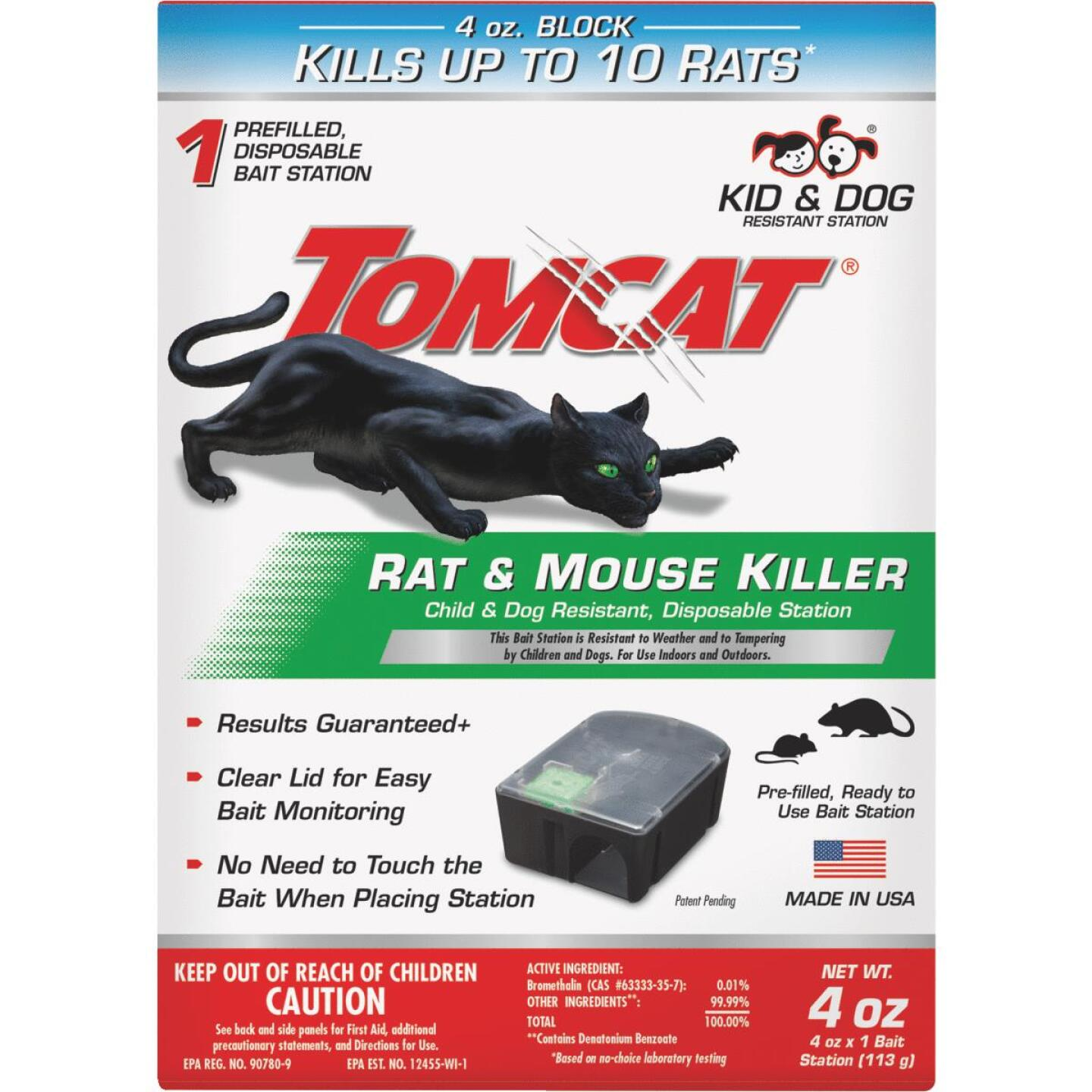 Tomcat Disposable Rat & Mouse Bait Station (1-Pack) Image 3