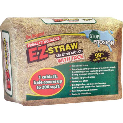 EZ Straw 1 Cu. Ft. Straw Seeding Mulch