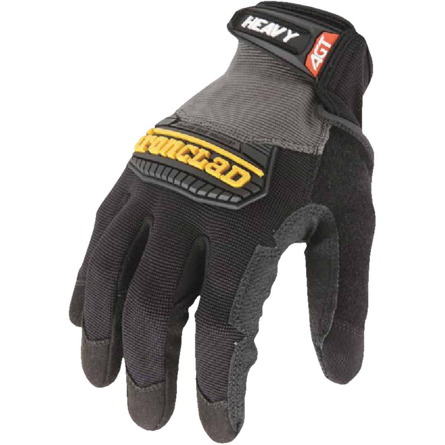 Ironclad Heavy Utility Men'sLarge Synthetic Leather High Performance Glove Image 4