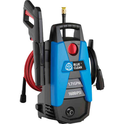 Blue Clean 1600 psi 1.7 gpm Cold Water Electric Pressure Washer