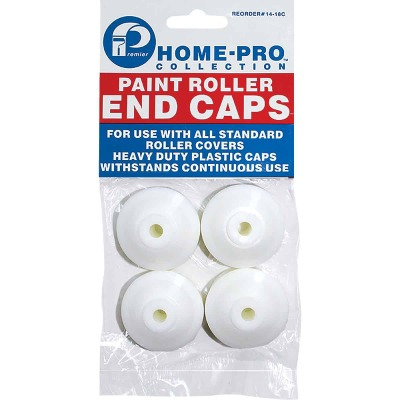Premier Home-Pro 1-1/2 In. Plastic Paint Roller End Caps (4-Pack)
