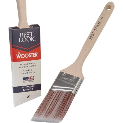Best Look By Wooster 2 In. Angle Sash Paint Brush