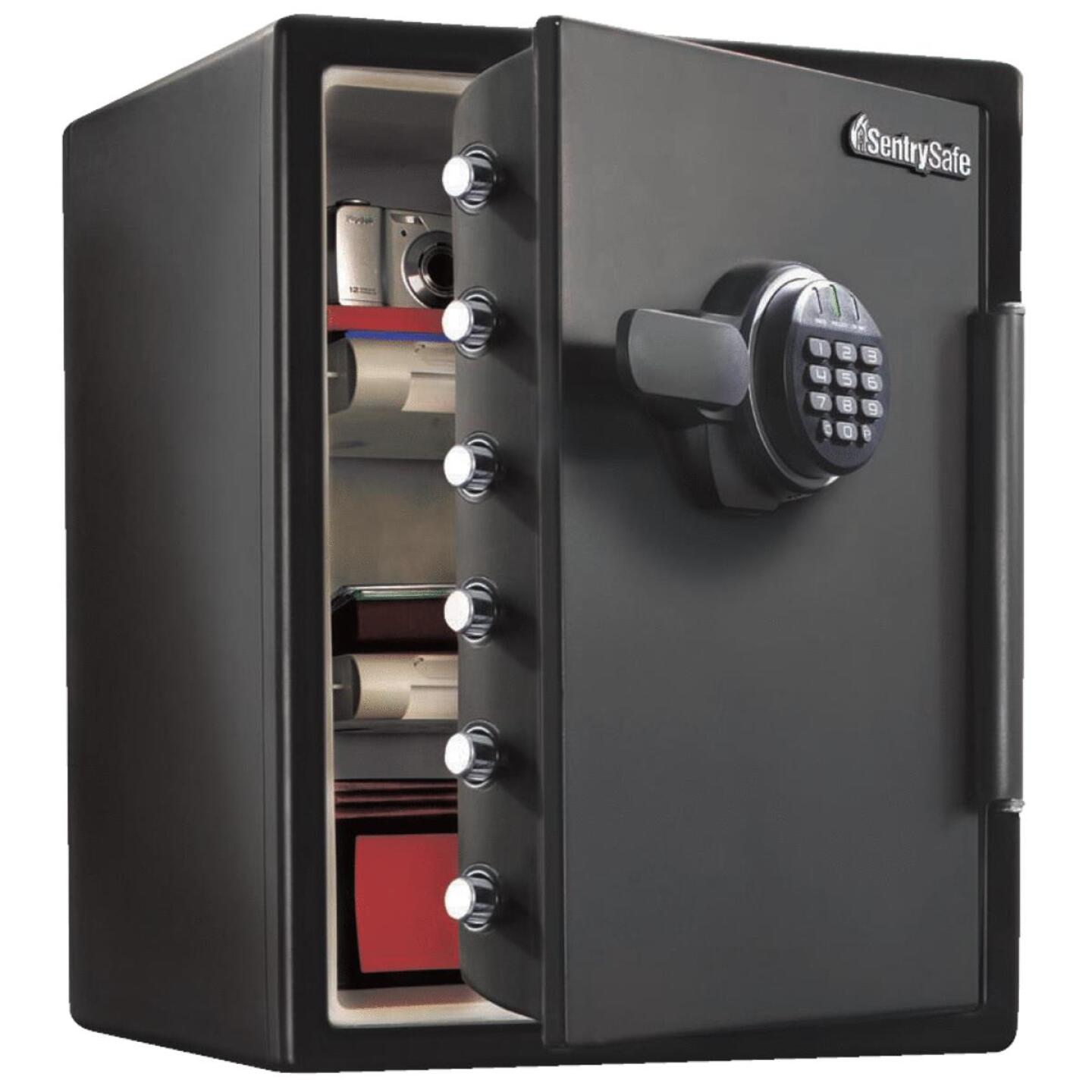 Sentry Safe 2 Cu. Ft. Capacity Digital Fire-Safe Floor Safe Image 1